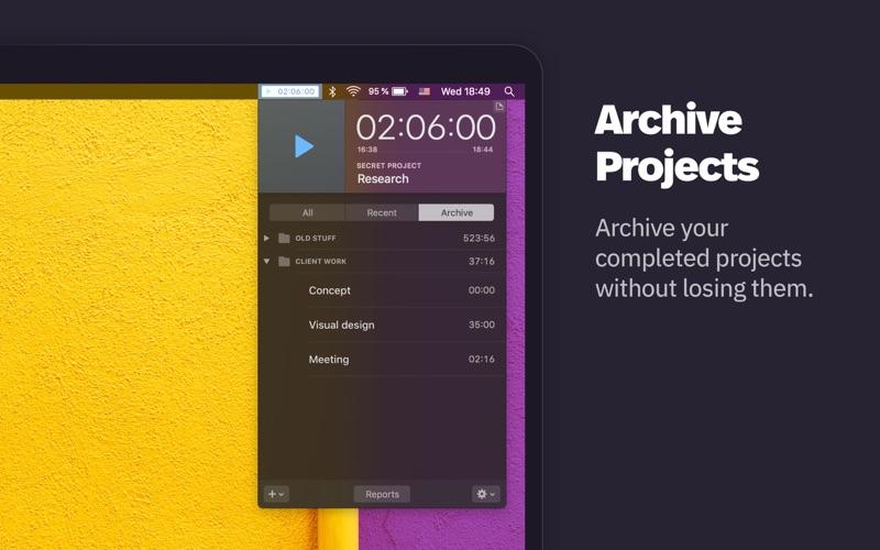Klokki Slim - Time Tracking скриншот программы 6