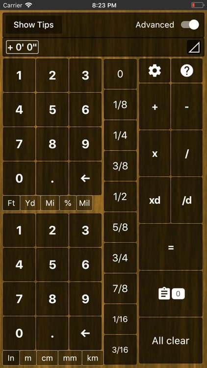 Feet Inches Construction Calc screenshot-5