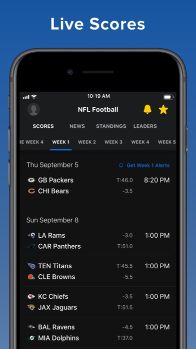 theScore: Sports News & Scores screenshot one