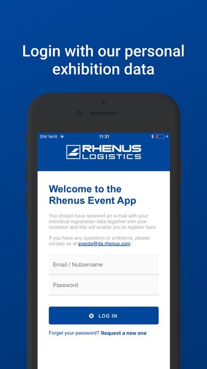 Rhenus Event App