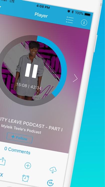 Podomatic Podcast Player screenshot-5