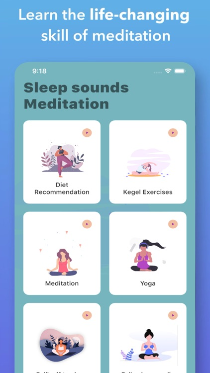Sleep Sounds: Meditation Music screenshot-3