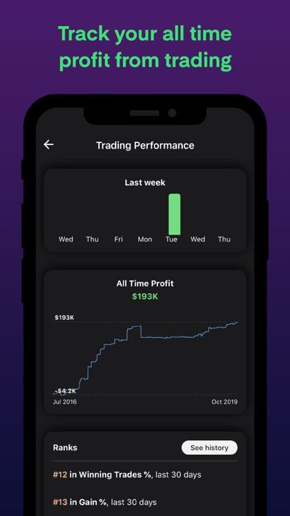 kinfo - Social Trading screenshot-4