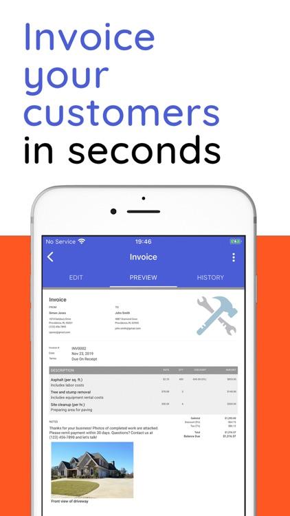 Invoice Simple, Estimate Maker screenshot-5
