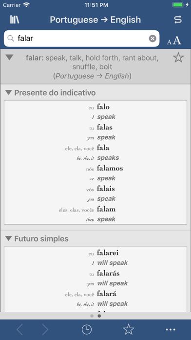 Ultralingua Portuguese-Englishのおすすめ画像2