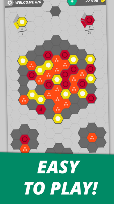 Hexme - IQ & Puzzle game screenshot 7