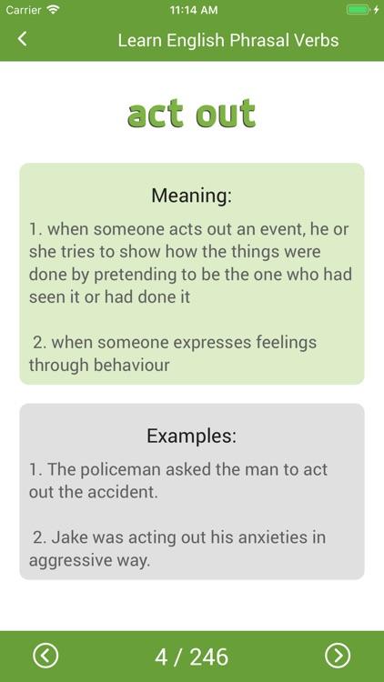 English Phrasal Verbs Handbook