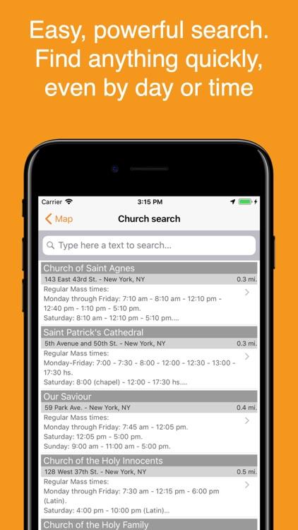 Catholic Mass Times screenshot-3