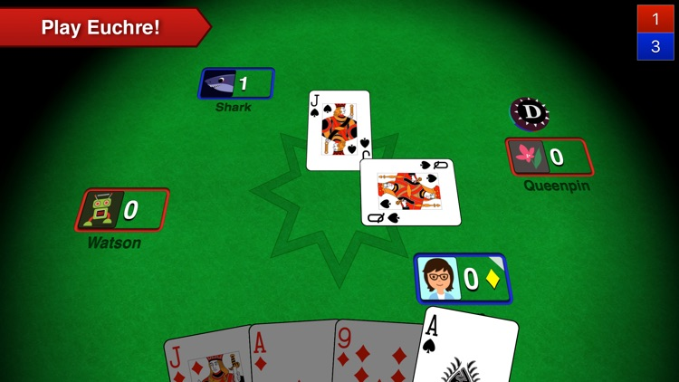 Euchre 3D screenshot-0