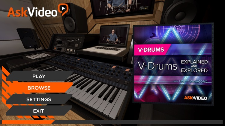 V-Drums Explained By Ask.Video screenshot-0