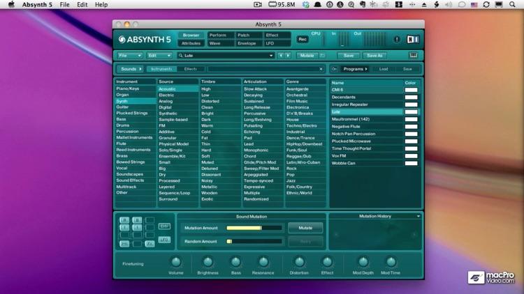 Absolute Absynth Course By AV screenshot-3