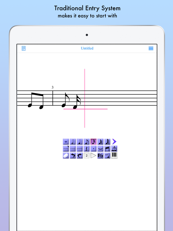 iWriteMusic for iPad screenshot four