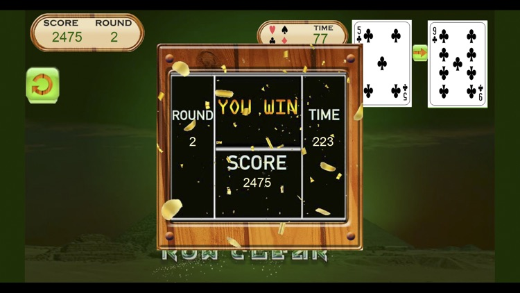 Pyramid Solitaire Cards Game screenshot-3