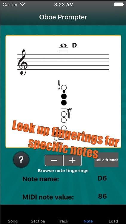 Oboe Prompter screenshot-4