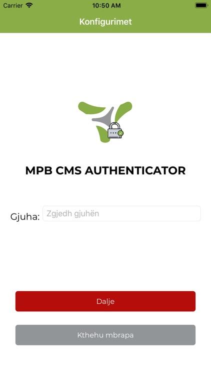 MPB CMS Authenticator screenshot-5