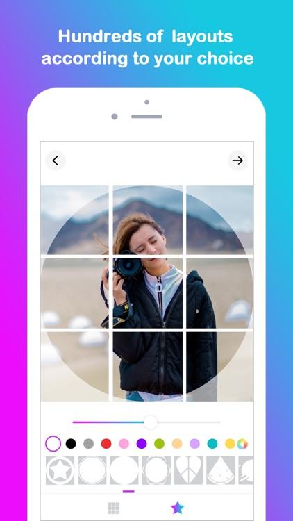 Grid Post Maker for Instagram screenshot-5