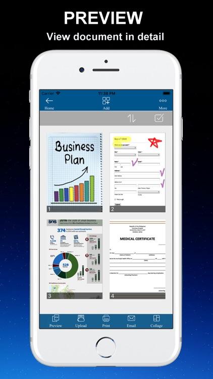 Cam Scanner - PDF Document Pro screenshot-4