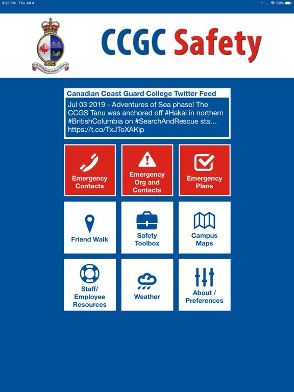 CCGC Safety screenshot 9
