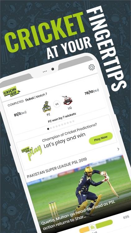 Cricingif-Live Cricket Scores by Cricingif
