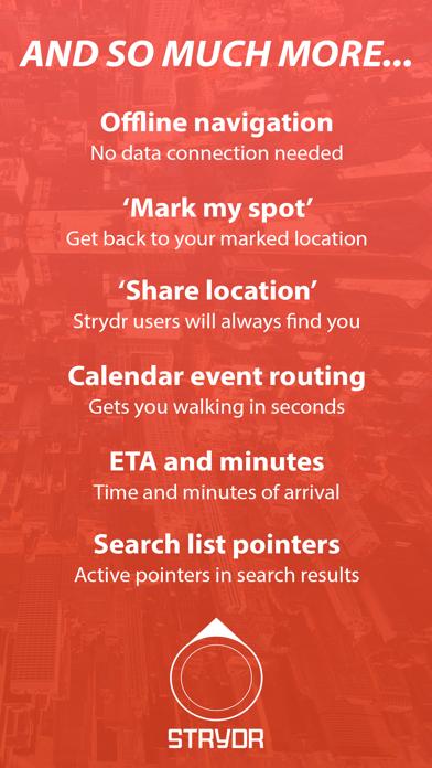 Strydr City Walking Navigation Screenshots