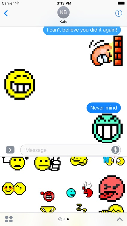 Old School Animated Emoticons