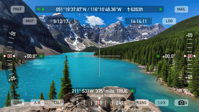 Theodolite review screenshots