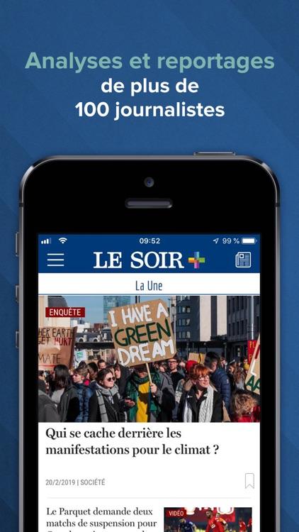 Le Soir – actu et info screenshot-0