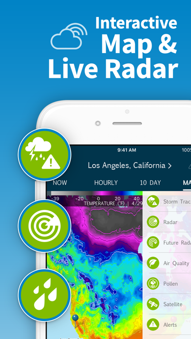 Screenshot for WeatherBug – Weather Forecast in United States App Store