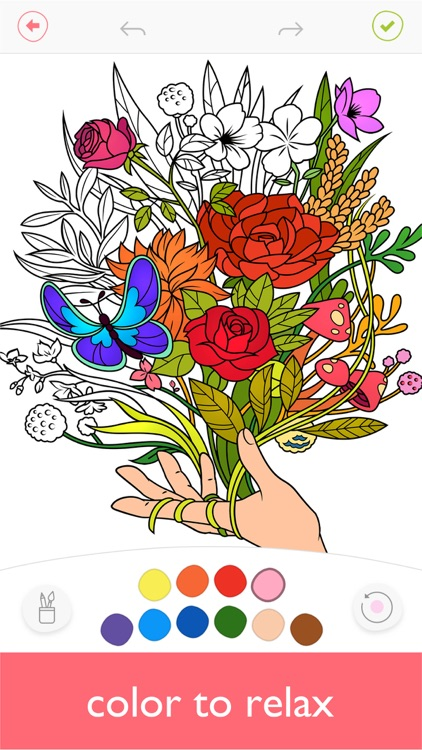 Colorfy: Coloring Art Game screenshot-0