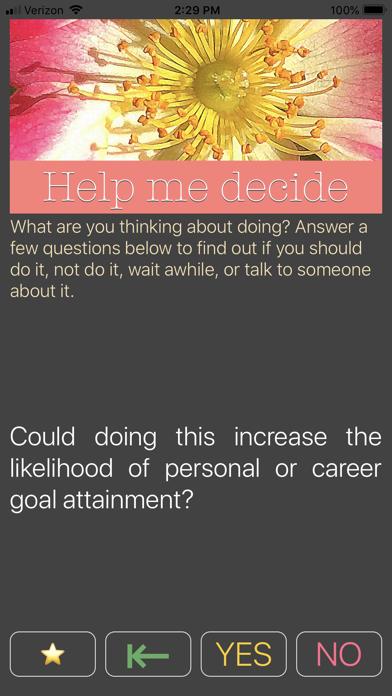 Help Me 2 Decide screenshot four