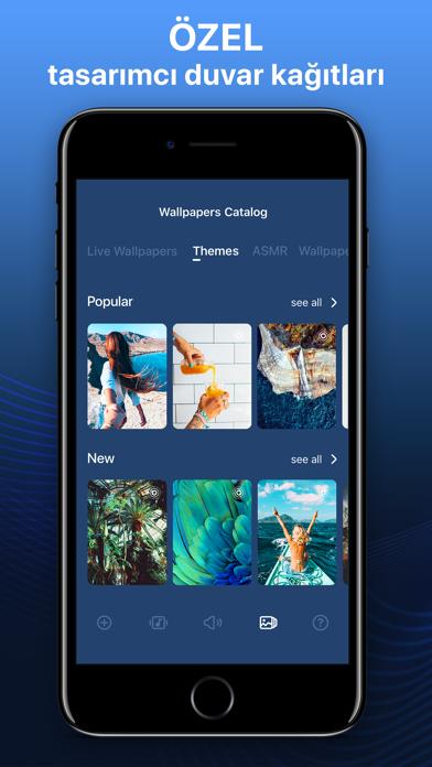 Screenshot for Zil Sesleri & Duvar Kağıtları in Turkey App Store