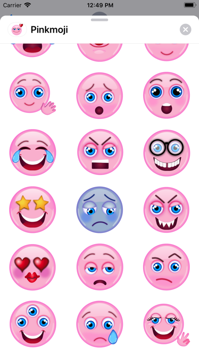 Pink-emoji screenshot 2