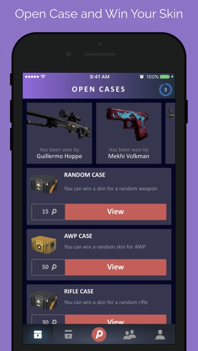 DailySkins: Cases & Skins screenshot three