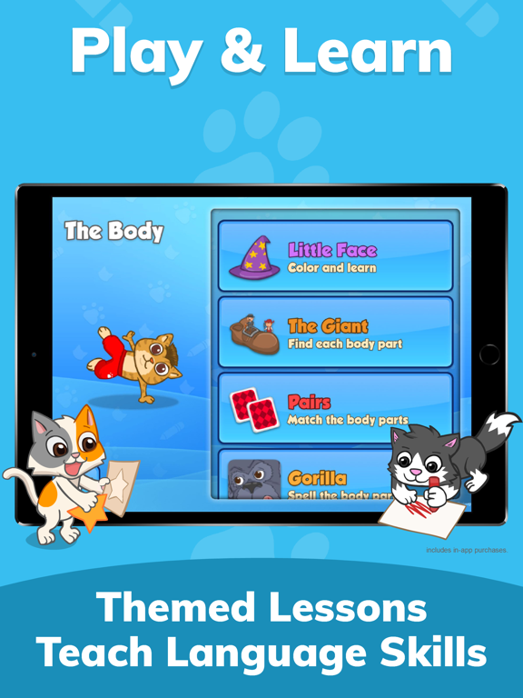 Fun French: Language learning games for kids ages 3-10 to learn to read, speak & spell screenshot