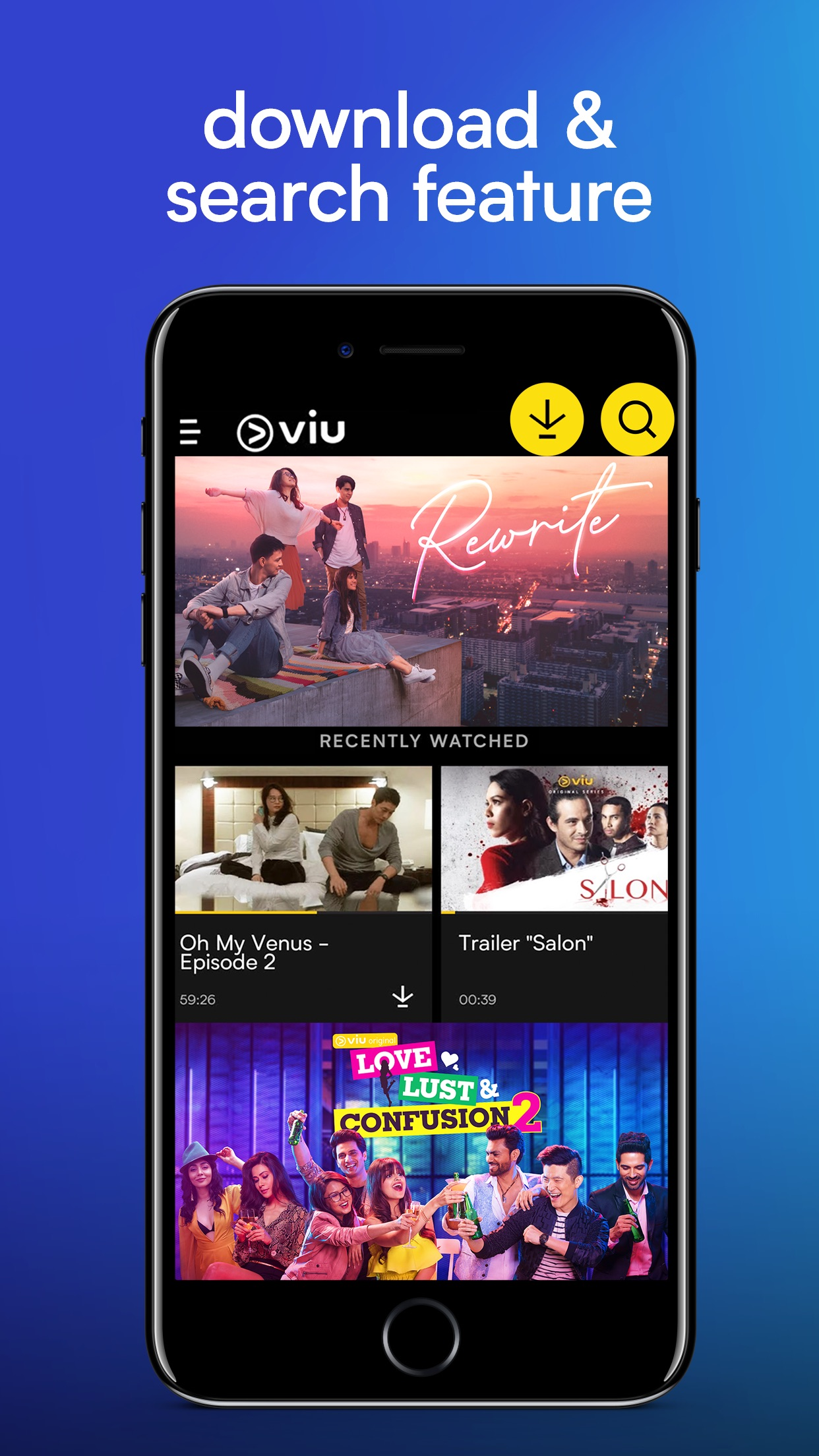 Viu -Stream TV Shows & Serials Screenshot