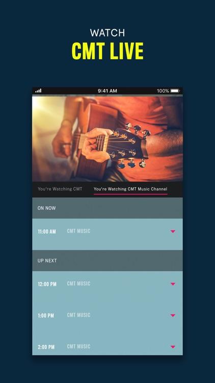 CMT - Watch TV Shows screenshot-4