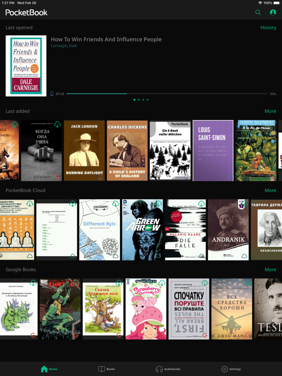 PocketBook Reader screenshot