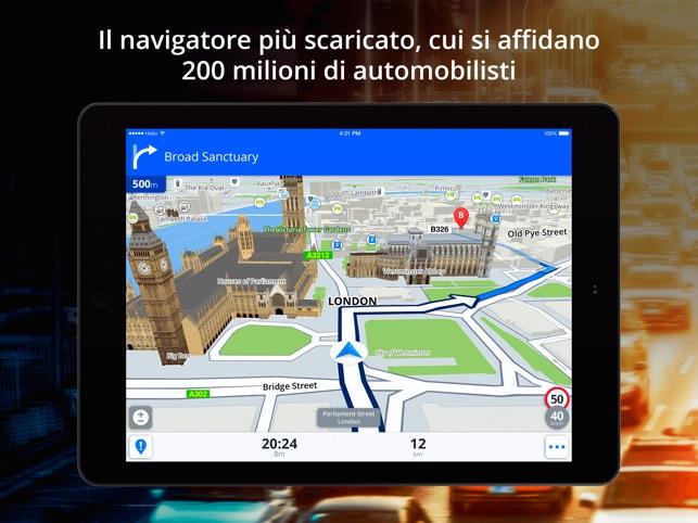 Scaricare navigatore satellitare gratis per auto