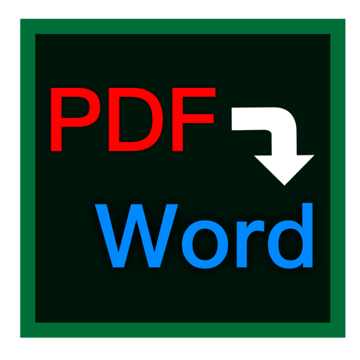 PDF轉Word for Mac