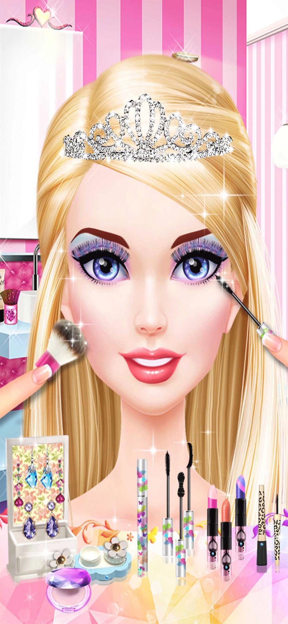 Glam Doll Makeover!