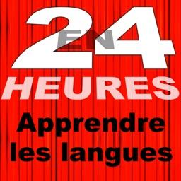 En 24 Heures les langues