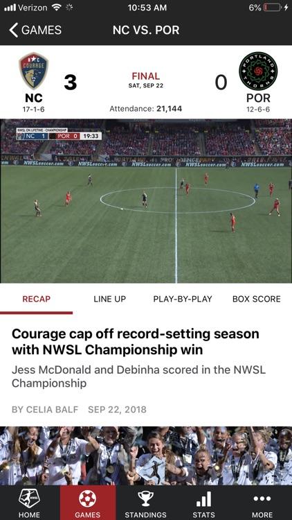 National Women's Soccer League screenshot-4