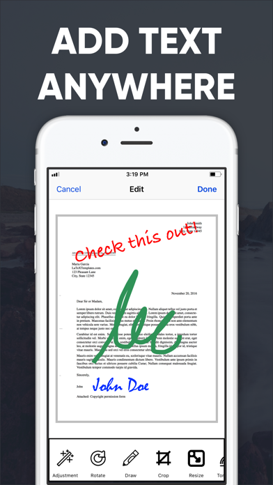 PDF Scanner App+ Screenshot
