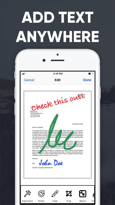 PDF Scanner - Scan to PDF App Screenshot