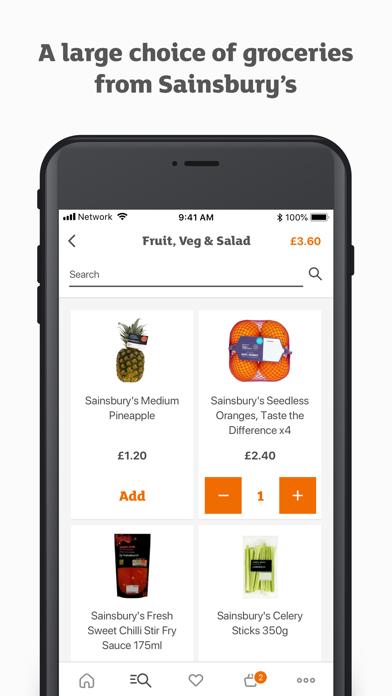 Sainsbury's Chop Chop screenshot three