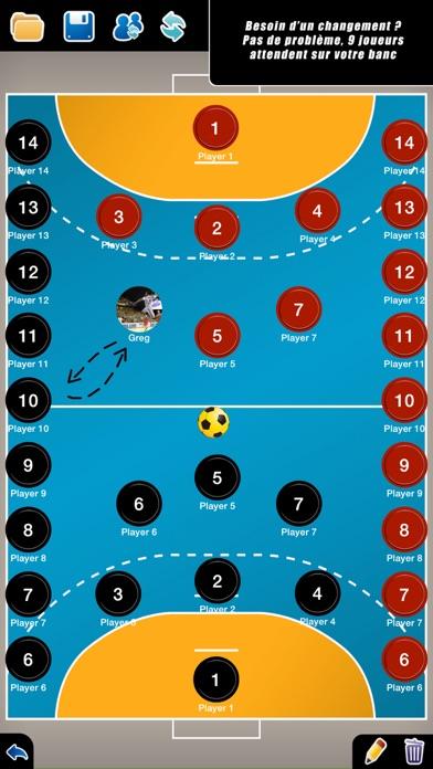 Screenshot #2 pour Planche Tactique: Handball++