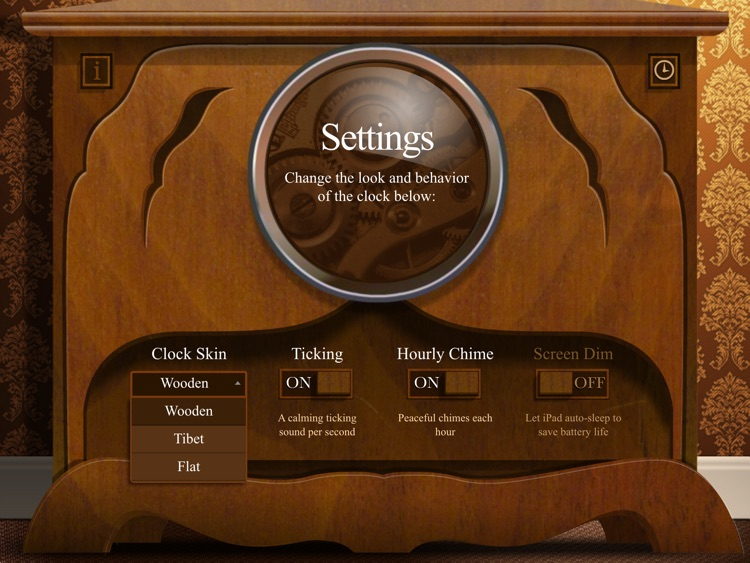 Wooden Clock screenshot-4