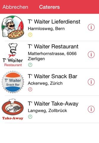 TouchWaiter - náhled
