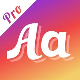 Fonts Pro: Font Keyboard