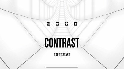 Contrast Tunnel Survival Screenshot on iOS